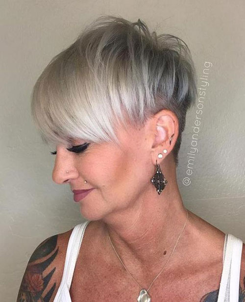 Cool-Pixie-Style-for-Over-50 New Short Haircuts for Older Women with Fine Hair