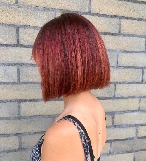 Cute-Colored-and-Cut-Short-Hairstyle Latest Cute Hairstyles for Short Hair