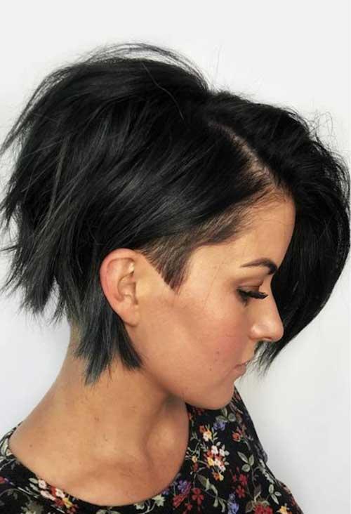 Dark-Brown-Hair-1 New Modern Short Haircuts for 2019