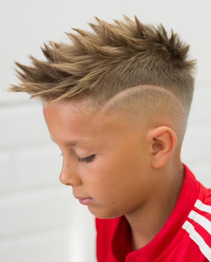 Dragon-Spike-Look Stylish and Trendy Boys Haircuts 2019