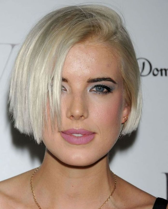 Edgy-Bob Cute Bob Haircuts for Women to Look Charming