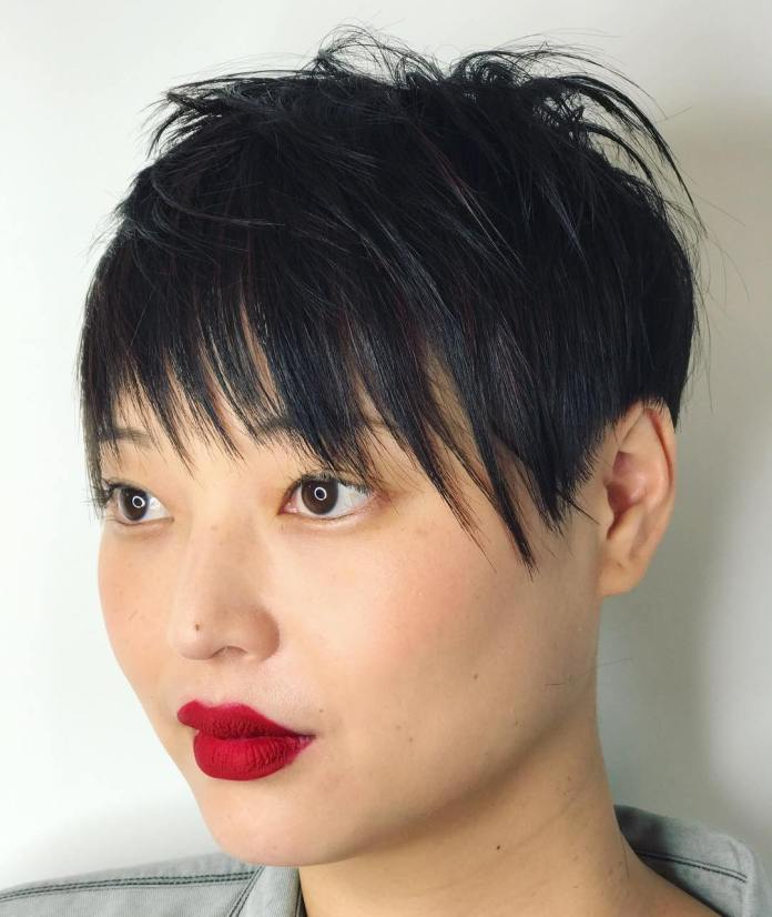 Extra-Short-Hairstyle-for-Chubby-Face Glorious Short Hairstyles for Chubby Faces