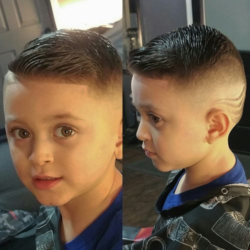 Faux-Hawk-Inspired-Look Really Cute Haircuts for Your Baby Boy