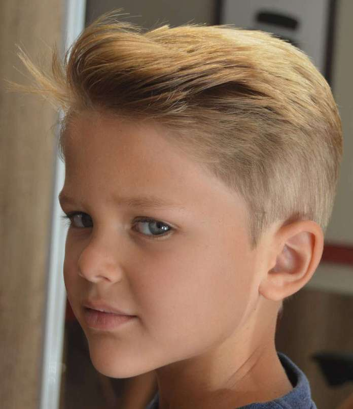 Front-Swipe-Hair-for-Boys Stylish and Trendy Boys Haircuts 2019