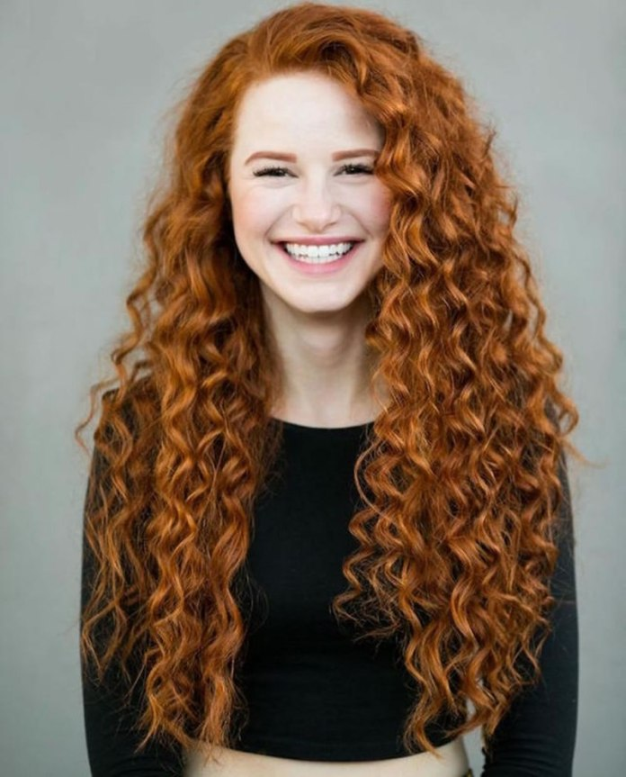 Golden-Brown-Long-Curls Cool and Cute Summer Hairstyles for Women