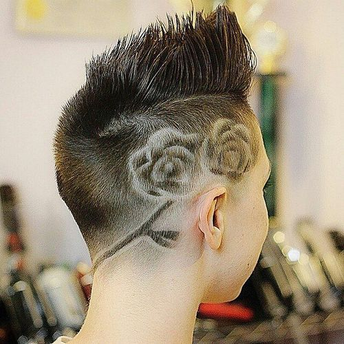 Hair-Art-Rose-Hairstyle Faux Hawk Hairstyle for Women – Trendy Female Fauxhawk Hair Ideas