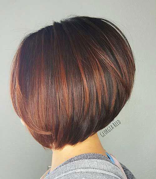 Highlighted-Hair-Color-Idea-for-Short-Hair Best Short Hair Color Ideas and Trends for Girls