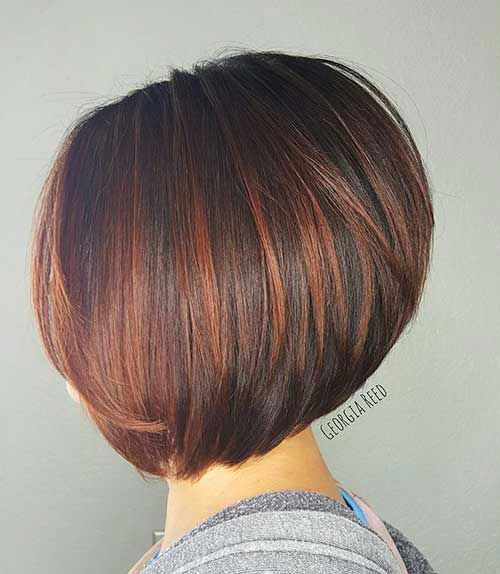 Highlighted-Hair-Color-Idea-for-Short-Hair Best Short Hair Color Ideas and Trends for Girls