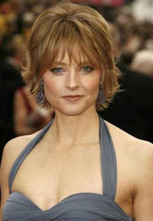 Layered-Short-Hair-for-Over-50 Best Short Hair Cuts For Over 50