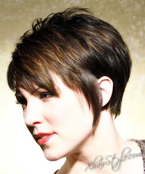 Layered-long-pixie-haircut Short Hair Styles for Women Over 40