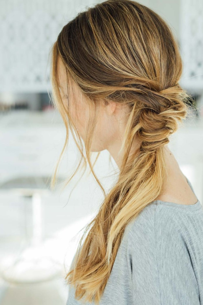 Messy-Side-Braid Cool and Cute Summer Hairstyles for Women