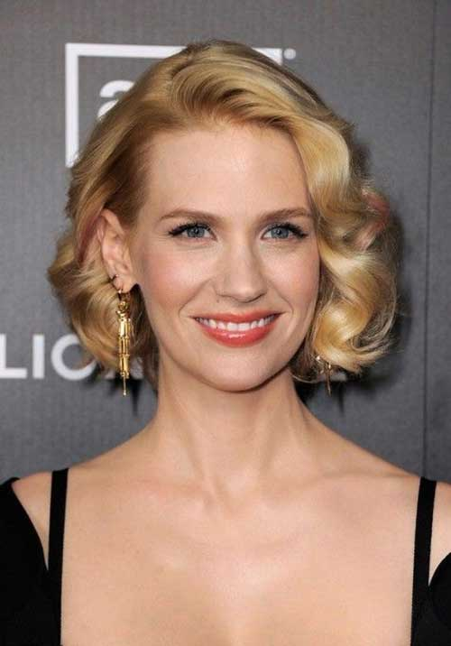 Newest-Short-Curly-Bob-Hairstyle-for-Women Celebrity Short Curly Hairstyles