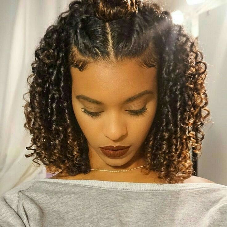 Rolling-Curls-Hairstyle Worth Trying Curly Hairstyles with Braids