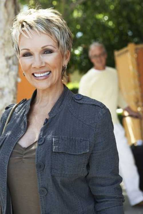 Short-Blonde-Pixie-Haircut-for-Over-50 Best Short Hair Cuts For Over 50