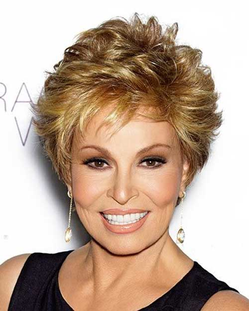 Short-Blonde-Spiky-Haircut-for-Over-50 Best Short Hair Cuts For Over 50