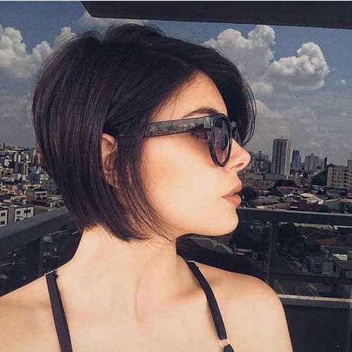Short-Bob-Style Top Short Hairstyles for Fine Thin Hair