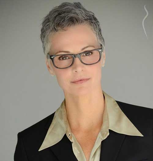 Short-Classy-Pixie Gorgeous Short Hairstyles for Women Over 50