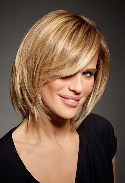 Short-Hair-Layered-Hair-with-Bangs-for-Women-Over-50 Best Short Hair Cuts For Over 50