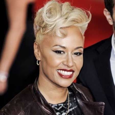 Short-Haircut-with-Shorter-Sides-and-Towering-Front Super Short Haircuts for Black Women