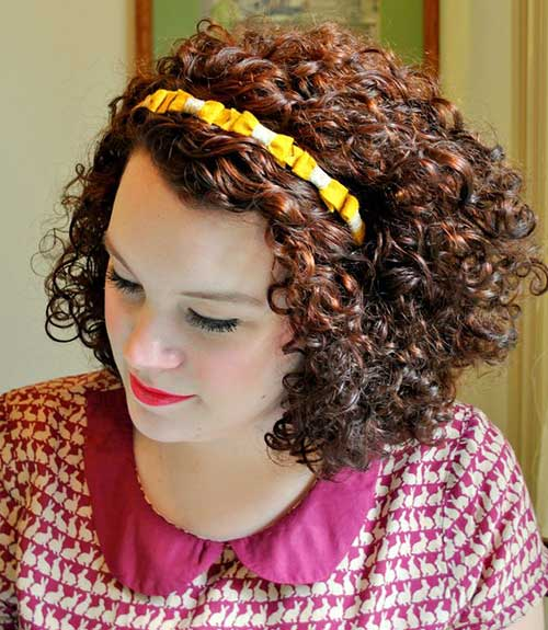 Short-Thick-Curly-Hairstyle Best Short Thick Curly Hairstyles