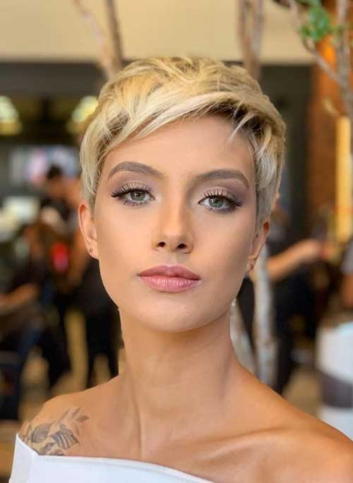Side-Bangs-Short-Haircut-for-Ladies New Modern Short Haircuts for 2019