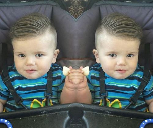 Side-Sweep-and-Fade Really Cute Haircuts for Your Baby Boy