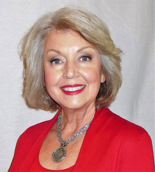 Simple-Bob-Style New Short Haircuts for Older Women with Fine Hair