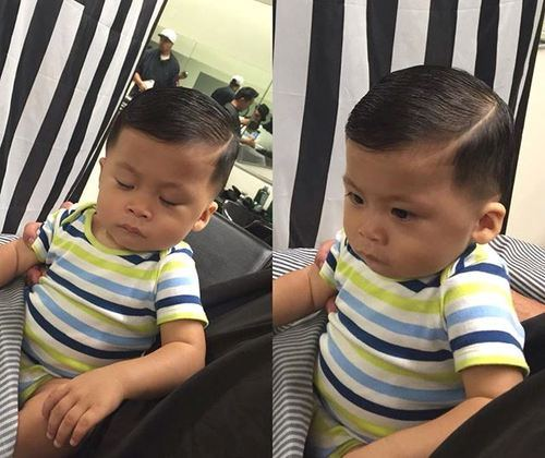 Slicked-Down Really Cute Haircuts for Your Baby Boy