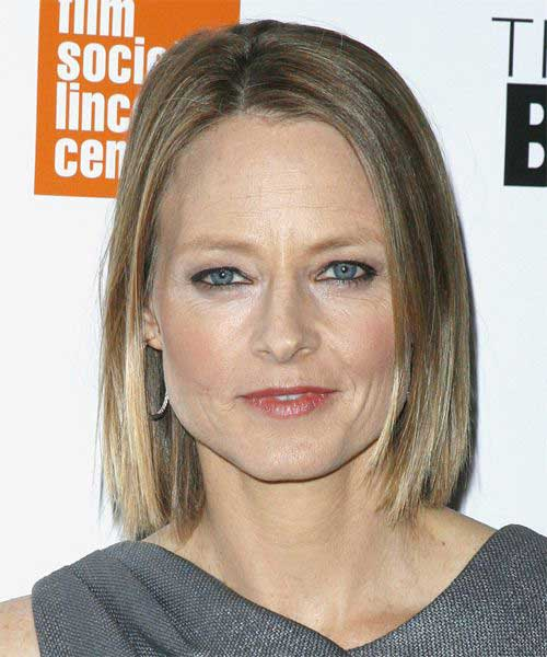 Straight-fine-hair-bob-with-ombre-color Short Hair Styles for Women Over 40