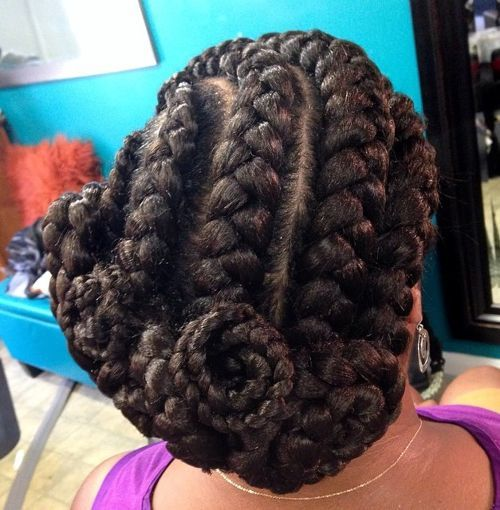 Swirly-Style Best Goddess Braids for Women – Goddess Braids Ideas