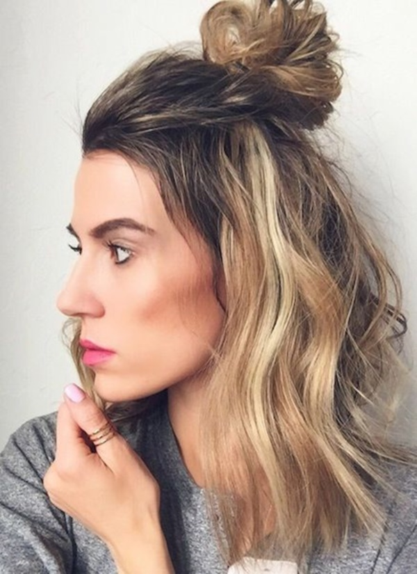 Top-Notched-Crown Top Trending Medium Hairstyles for Girls