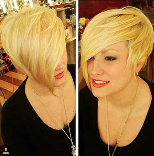 Very-Long-Blonde-Pixie-Style Short Hairstyles 2019 Trends