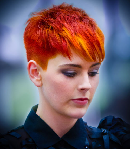 Yellow-orange-and-red-hair Best Short Hair Colors