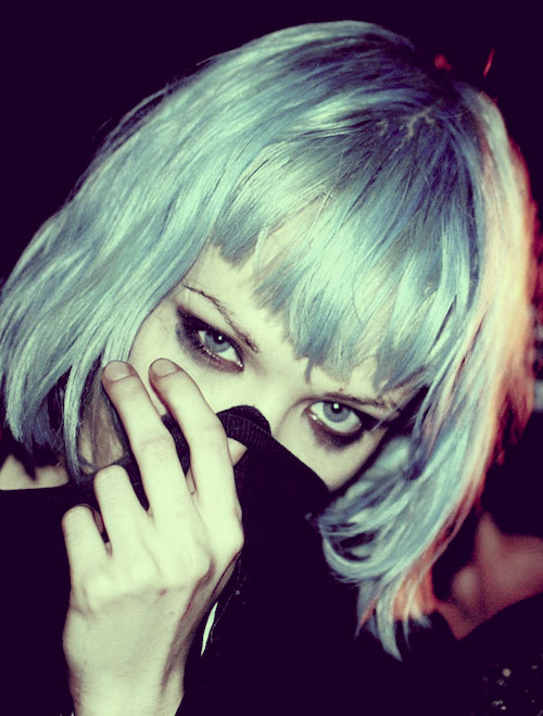 short-blue-hair Best Short Hair Colors