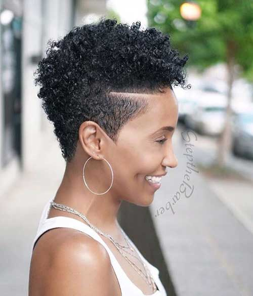 Latest Short Haircuts for African American Women - The UnderCut