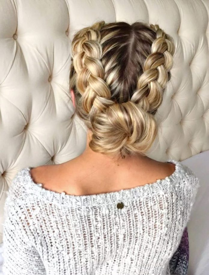 Braid-to-Bun Most Adorable Long Hairstyles with Braids