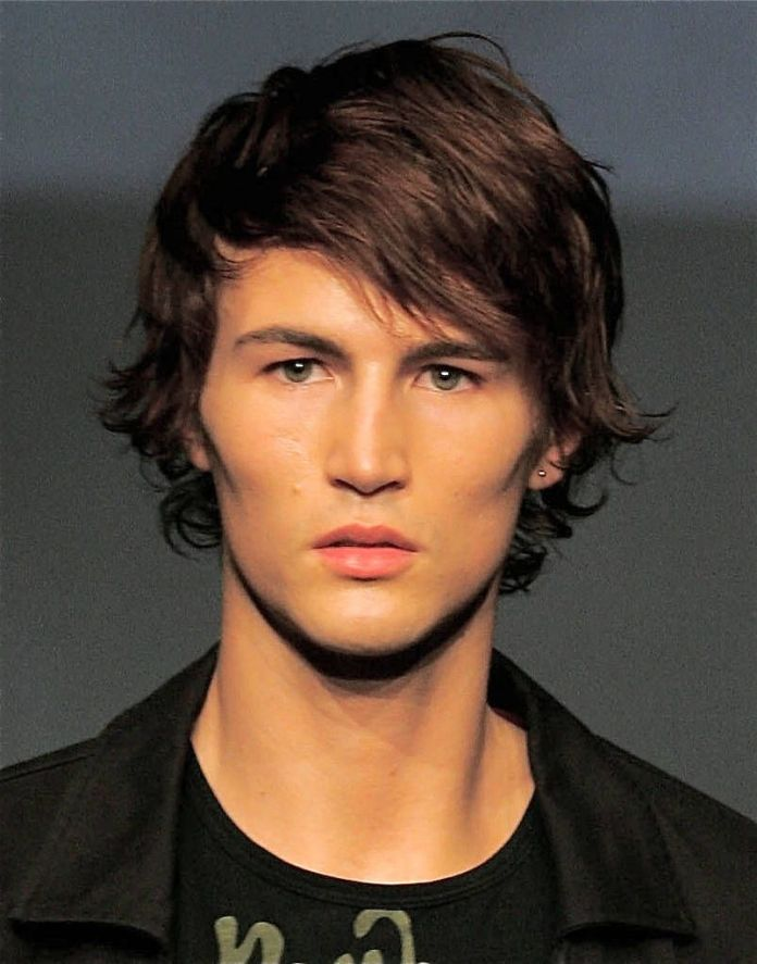 Classy-Shaggy-Hairstyle Ultra Dashing Medium Hairstyles for Boys