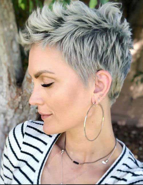 Cute-Pixie-Cropped Ideas of Short Hairstyles for Women Over 50