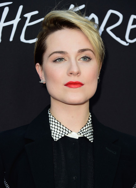 Evan-Rachel-Wood-Straight-Short-Hair Trendy Celebrity Short Hairstyles You'll Want to Copy