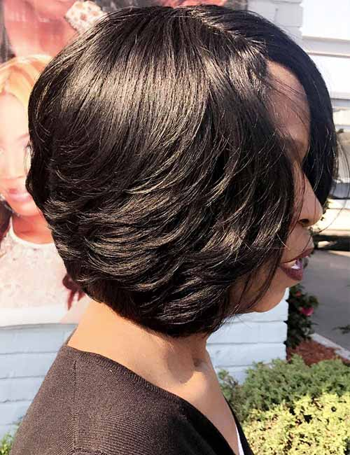 Feathered-Layers-Bob Lovely Styling Ideas For Layered Bob Hair