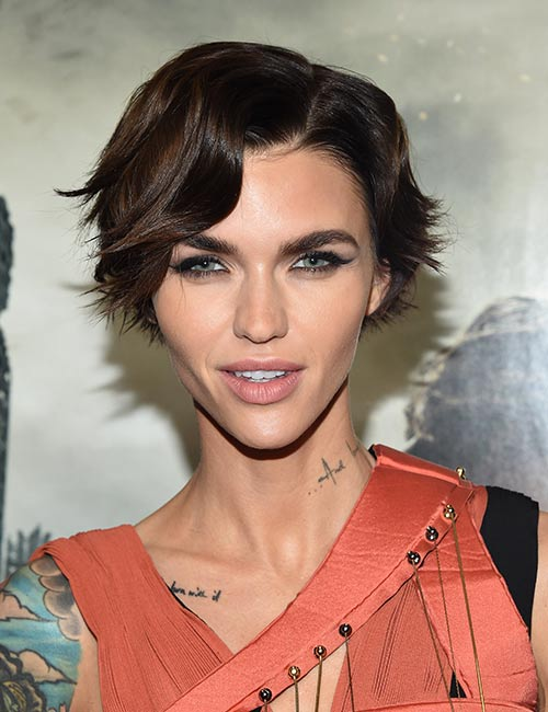 Flicked-Out-Ends Celebs With Stunning Short Hairstyles