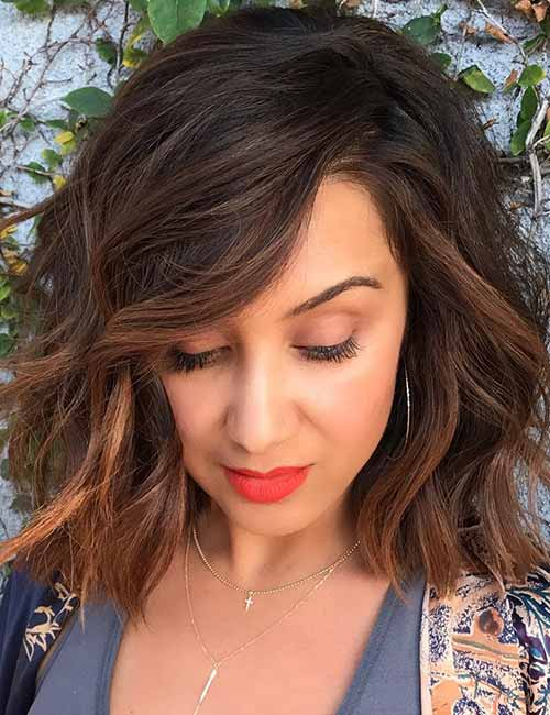 Full-Bodied-Layered-Bob Lovely Styling Ideas For Layered Bob Hair