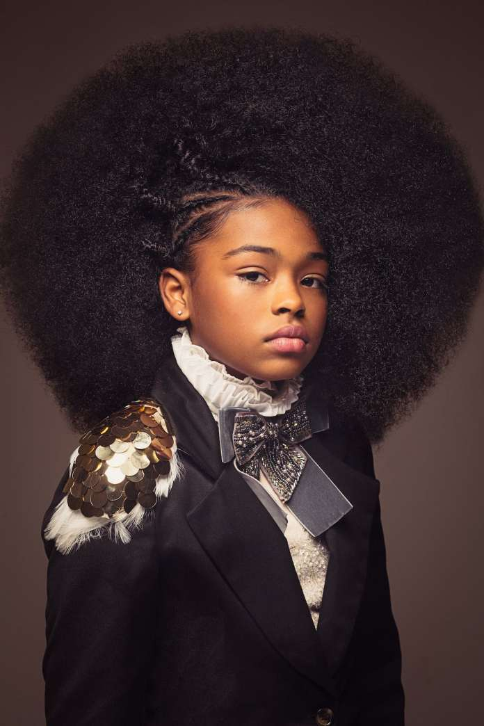 Funky-Afro-Hairstyle Cute African American Hairstyles for Gorgeous Look