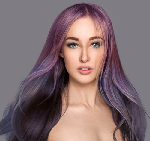 Galaxy-Riot Fabulous Hair Colors To Beat The Heat This Summer