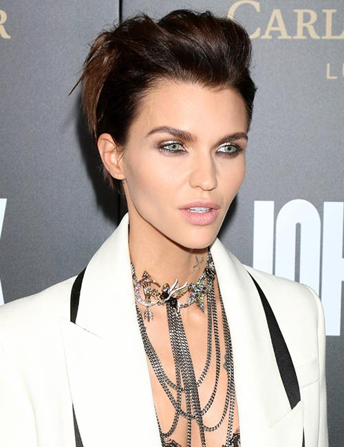 Glamorous-Mohawk Celebs With Stunning Short Hairstyles