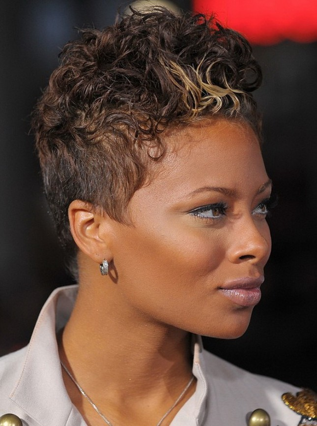 Highlighted-Hair-Updo Best African American Hairstyles with Color
