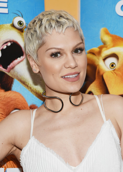 Jessie-J-Platinum-Pixie Trendy Celebrity Short Hairstyles You'll Want to Copy