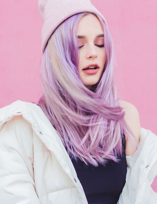 Lilac Fabulous Hair Colors To Beat The Heat This Summer