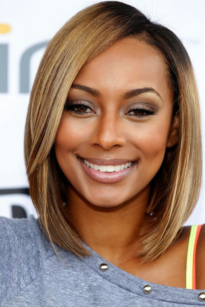 Long-Blunt-Hair-with-Inverted-Cut Exclusive African American Bob Hairstyles