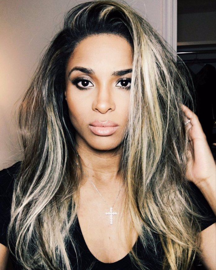 Long-Tresses-African-American-Hair Best African American Hairstyles with Color
